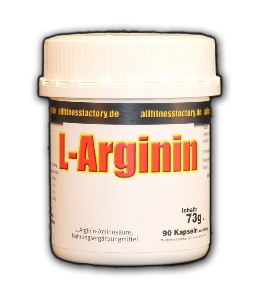 L-Arginin Anti Aging Potenz Muskelaufbau 90*820mg Caps