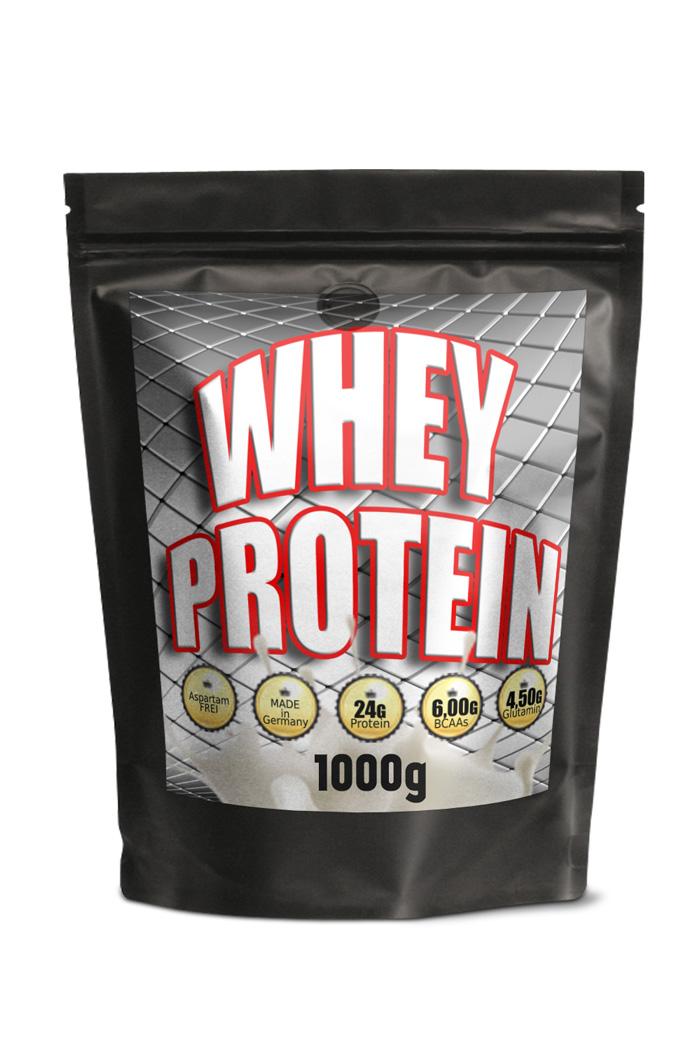WHEY Protein 1000g, 24g Protein pro Portion 31g,  Schoko