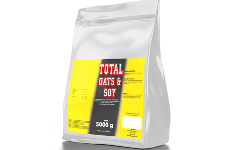 Total OATS & SOY 5000g Frühstücks Eiweiß Protein Muskelaufbau Vanille vegan