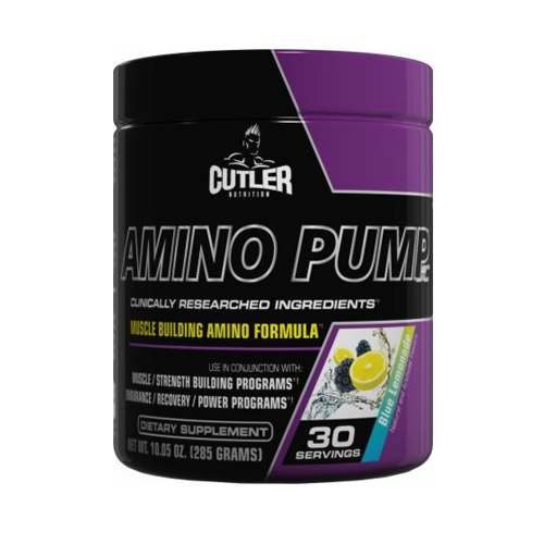 Cutler Nutrition Amino Pump (30serv) Blue Lemonade