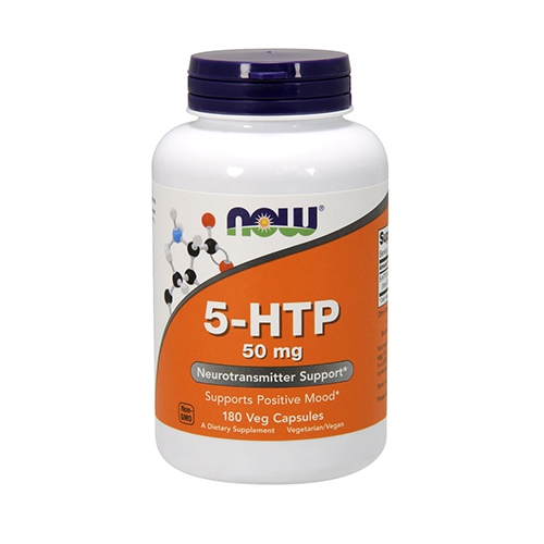 NOW Foods 5 HTP - 180 x 50mg VCaps