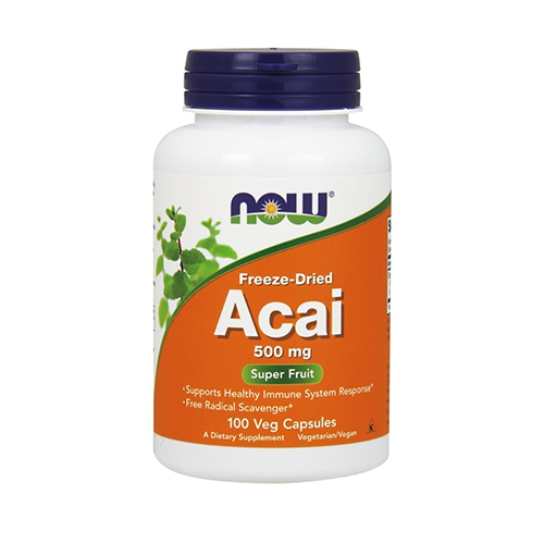 Now Foods Acai 500 mg - 100 Vcaps