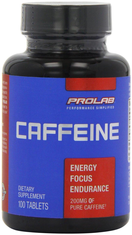 Koffein Caffeine 200mg 100 Stück von ProLab